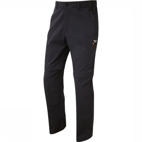 Sprayway Broek Compass Combi Short Zwart