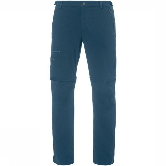 Vaude Trousers Farley Stretch T-Zip II blue