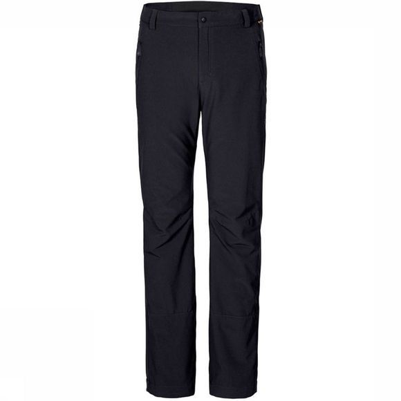 Jack Wolfskin Trousers Activate Winter black