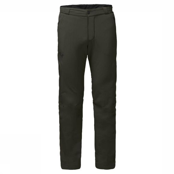 Jack Wolfskin Broek Activate Thermic Short Middenkaki