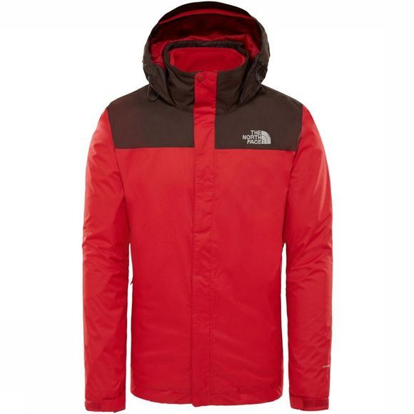The North Face Manteau Evolve II Triclimate Rouge/Brun
