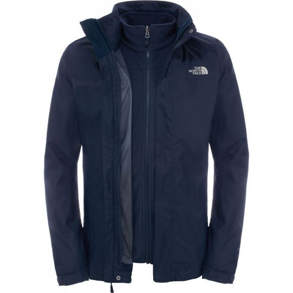 The North Face Jas Evolve II Triclimate Blauw