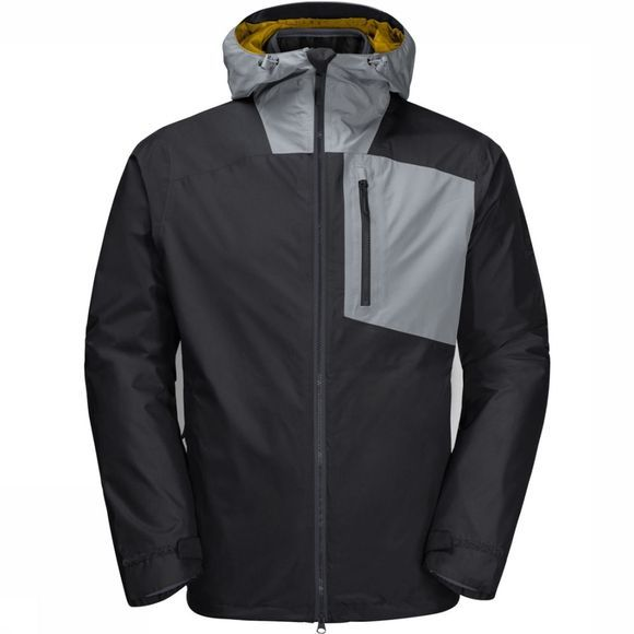 Jack Wolfskin Coat 365 Twentyfourseven 3In1 black/light grey