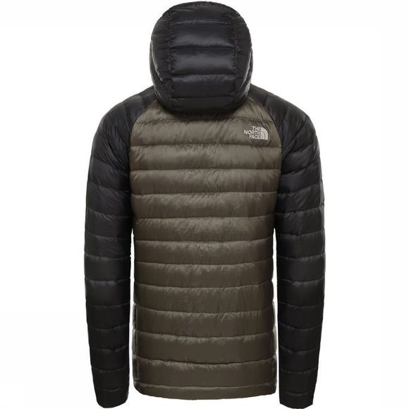 The North Face Donsjas Trevail Donkerkaki/Zwart