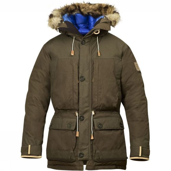 Fjällräven Coat Expedition No.1 dark khaki