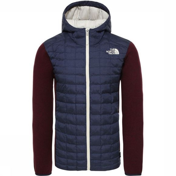 The North Face Jas Thermoball Gordon Lyons Donkerblauw/Bordeaux