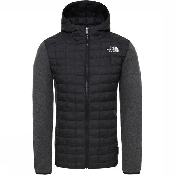 The North Face Jas Thermoball Gordon Lyons Zwart/Donkergrijs Mengeling