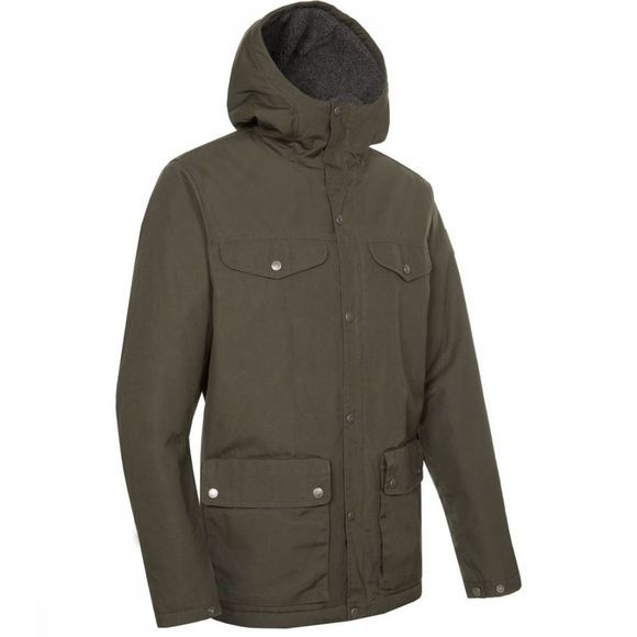 Fjällräven Coat Greenland Winter dark green