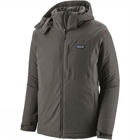 Patagonia Jas Quandary Insulated Donkergrijs