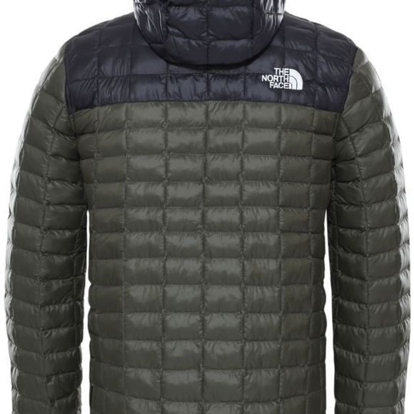The North Face Manteau Thermoball Eco Hoodie Brun Foncé/Noir