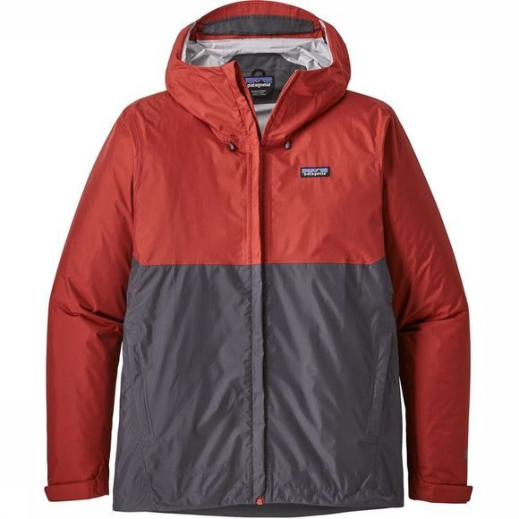 Patagonia Jas Torrentshell orange/dark grey