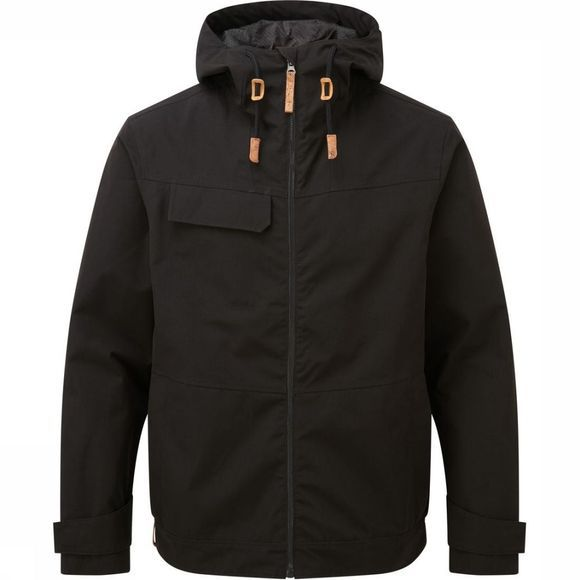 Tentree Jas Destination Rain Jacket Zwart
