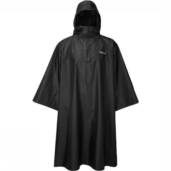 Trekmates Poncho Deluxe Poncho - Rugzakponcho Noir