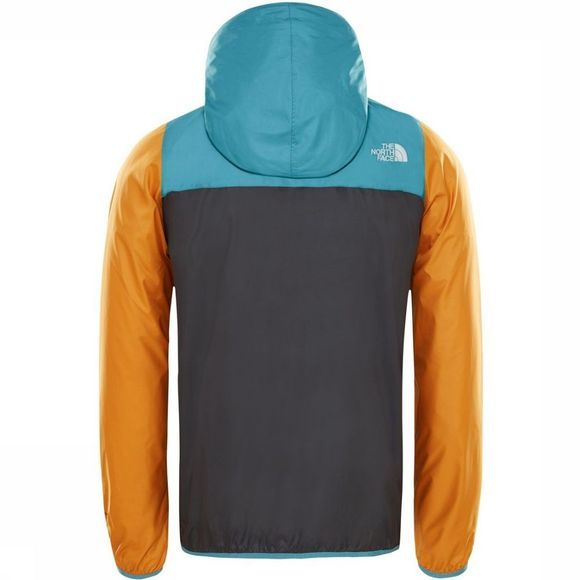 The North Face Windstopper Fanorak Donkergeel/Donkergrijs
