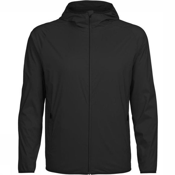 Icebreaker Windstopper Coriolis Hooded Zwart