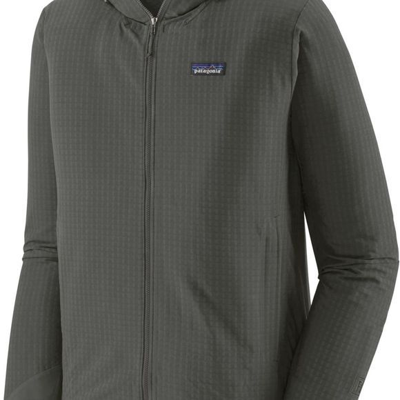 Patagonia Windstopper R1 Techface Hoody Donkergrijs