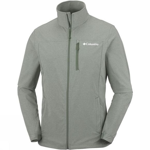 Columbia Softshell Heather Canyon Hoodless Middenkaki