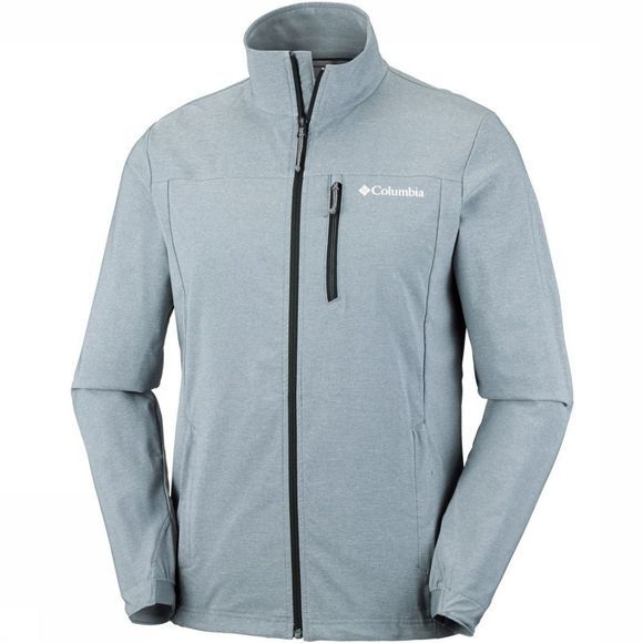 Columbia Softshell Heather Canyon Hoodless Lichtgrijs/Uitzonderingen