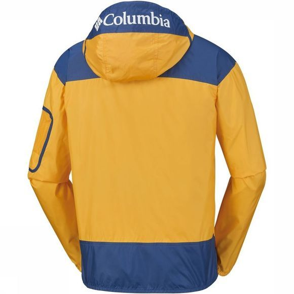Columbia Softshell Challenger Geel/Donkerblauw