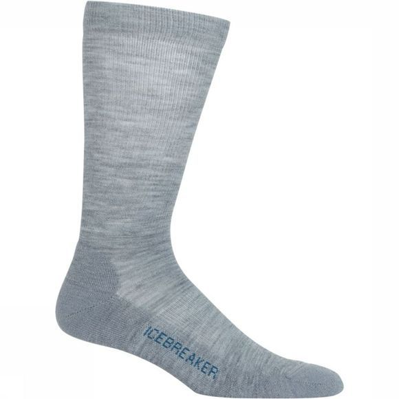 Icebreaker Sock Socks Lite Crew Light Grey Mixture