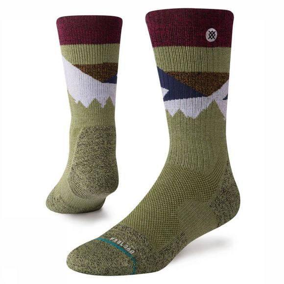Stance Sock Hike Men mid khaki