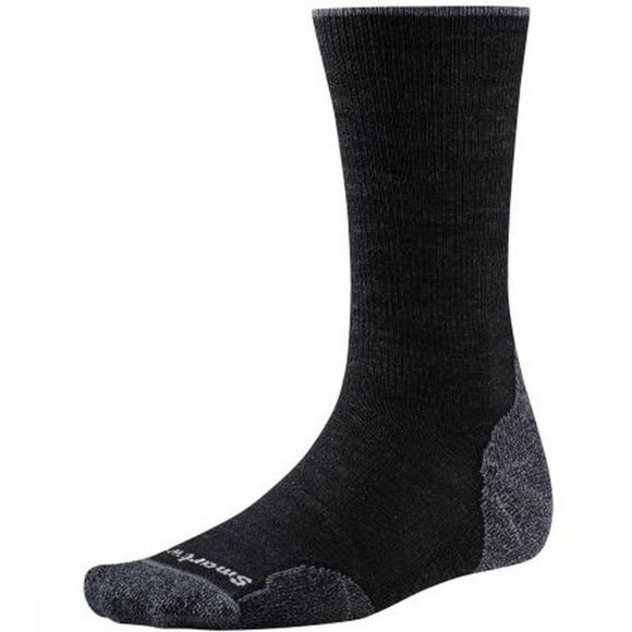 Smartwool Chaussette PhD Outdoor Light Crew Gris Moyen