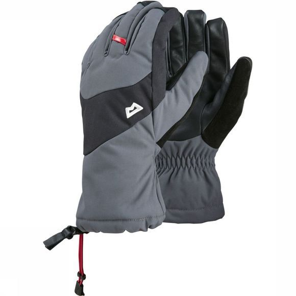 Mountain Equipment Handschoen Guide Donkergrijs/Zwart