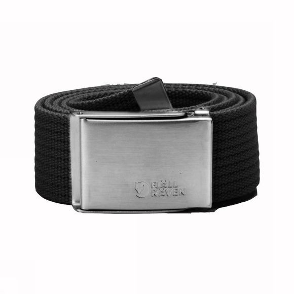 Fjällräven Belt Merano Canvas black
