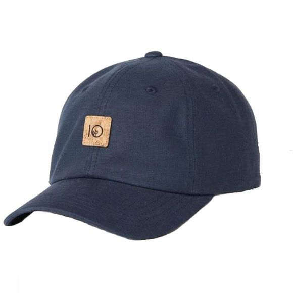 Tentree Cap Peak dark blue