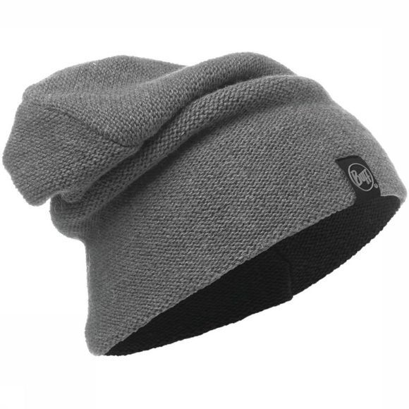 Buff Muts Active Knitted Hat Middengrijs