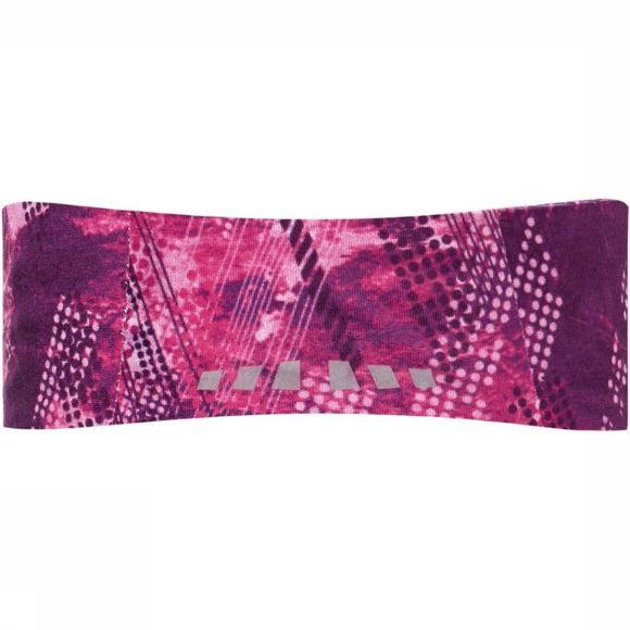 Buff Haarband Tech Lilac Wire Middenroze