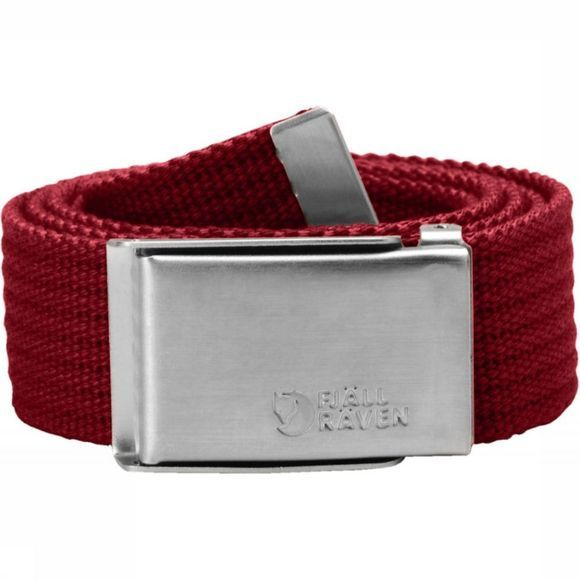 Fjällräven Belt Merano Canvas red