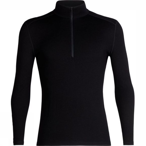 Icebreaker Underwear 260 Tech Ls Half Zip black