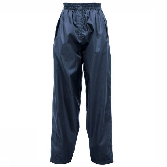 Regatta Pack-It Overtrouser Kids Donkerblauw/Middenblauw