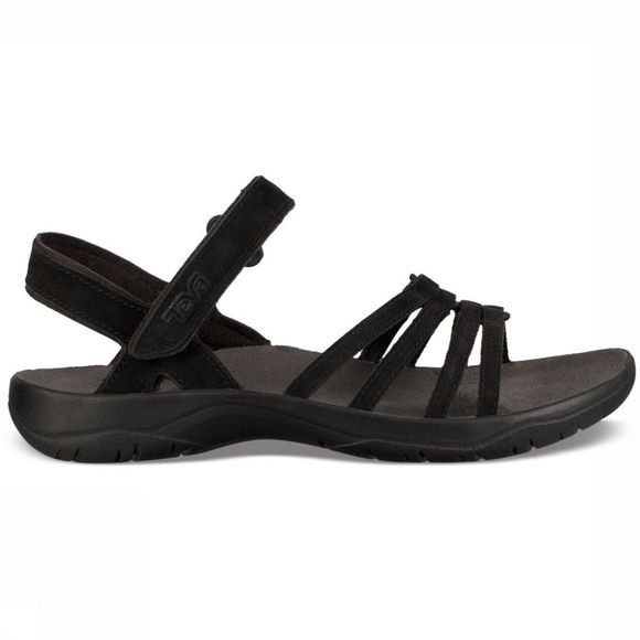 Teva Sandaal Elzada Leather Zwart