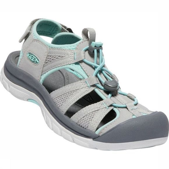 Keen Sandale Venice II H2 Gris Clair/Turquoise