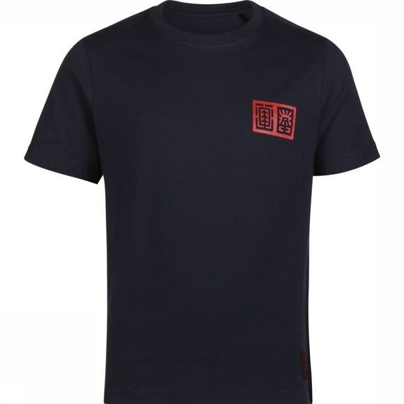 Element T-Shirt Tradition Donkerblauw