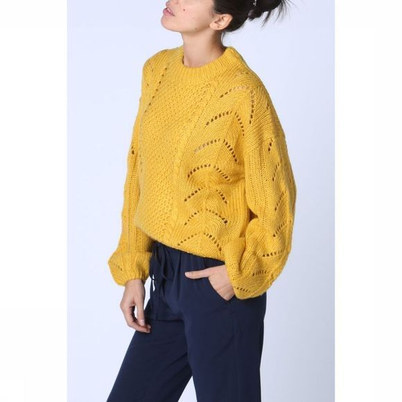 Grace&Mila Pullover Ricola dark yellow