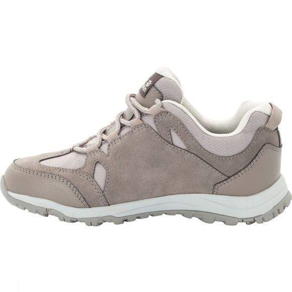 Jack Wolfskin Shoe Rocksand Texapore Low sand/white