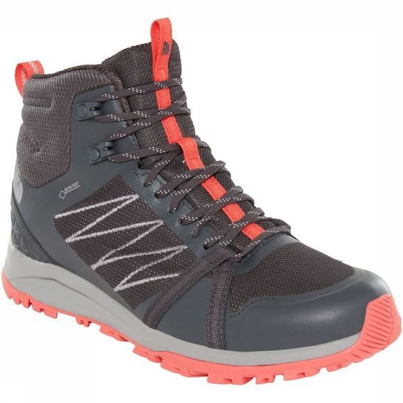 The North Face Shoe Litewave Fastpack II Mid Gore-Tex mid grey/light pink
