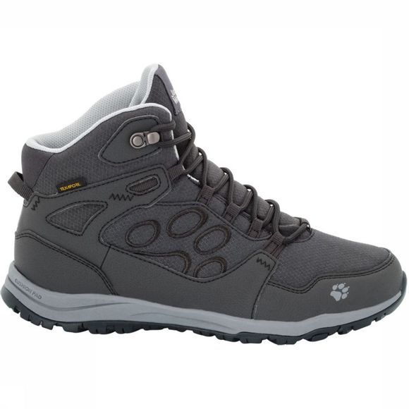 Jack Wolfskin Shoe Activate Texapore Mid dark grey