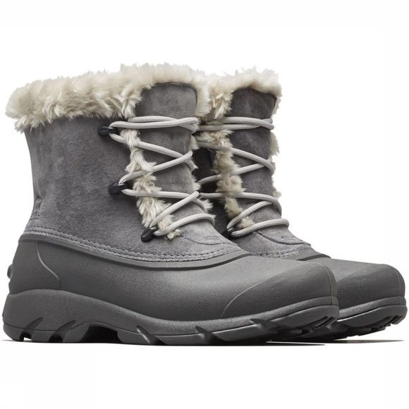 Sorel Winterschoen Snow Angel Lace Donkergrijs