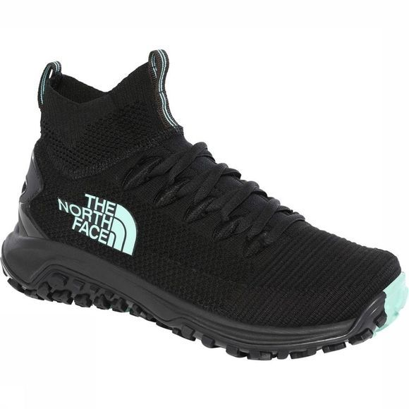 The North Face Shoe W Truxel Mid black/light green