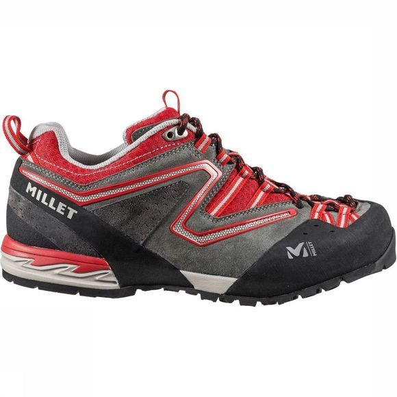 Millet Shoe Rockrise Dark Grey Mixture/Red