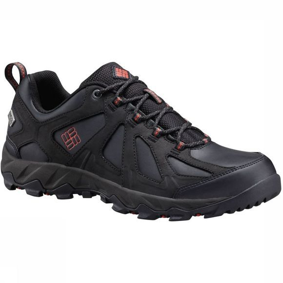Columbia Chaussure Peakfreak Xcrsn II Low Leather Outdry Noir/Rouge