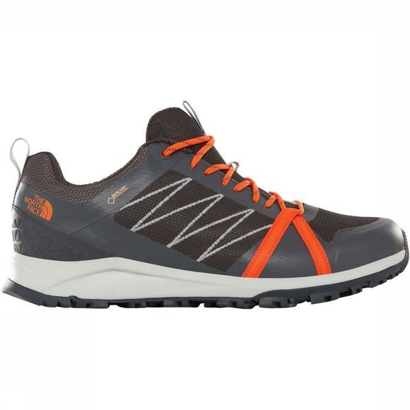 The North Face Schoen Litewave Fp Gore-Tex II Lichtgrijs/Middenrood