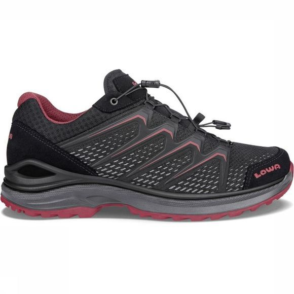 Lowa Chaussure Maddox Gore-Tex Lo Noir/Rouge