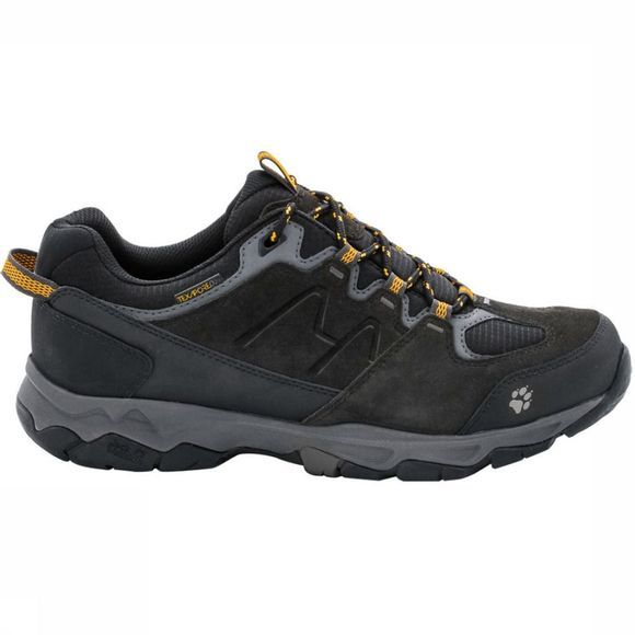 Jack Wolfskin Chaussure Mtn Attack 6 Texapore Low Gris Foncé/Jaune