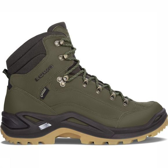 Lowa Shoe Renegade Mid Gore-Tex mid green