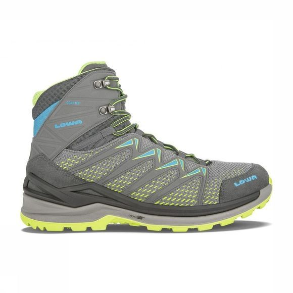 Lowa Chaussure Innox Pro Gore-Tex Gris Clair/Lime